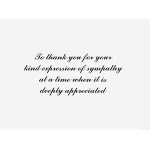 Sympathy Formal