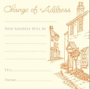 Change of Address, lane