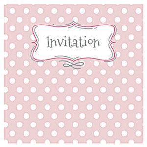Polka Dot Invite