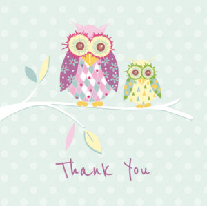 Owls Thank You