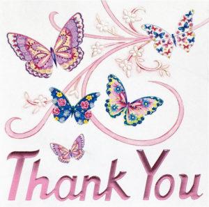 Butterflies Thank you