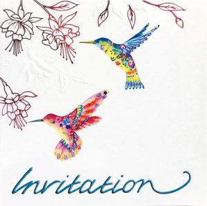 Hummingbird Invite
