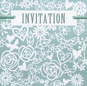 Lazer cut Invitation