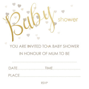 Deckle Baby Shower