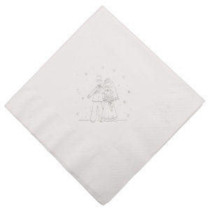 Bride & Groom Napkin