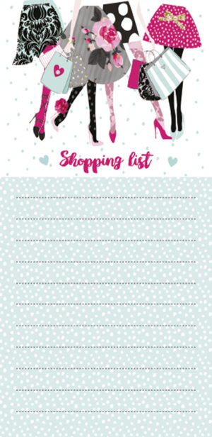 Magnetic List Pad-Shopping