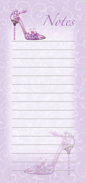 Magnetic List Pad-Floral 1