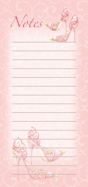 Magnetic List Pad-Floral 2