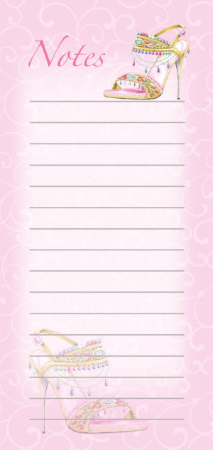 Magnetic List Pad-Jewel 1