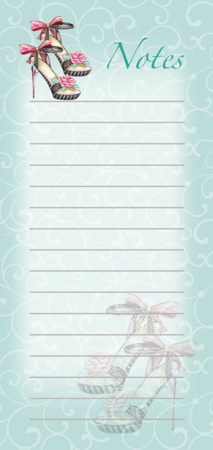 Magnetic List Pad-Bow