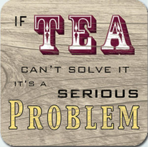 Tea solve it Coaster