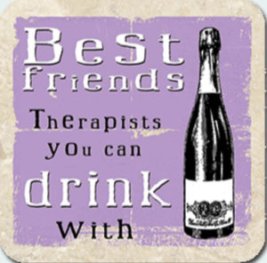 Best Friends therapists Coaster