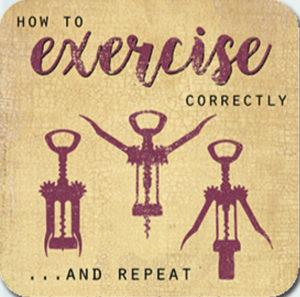 Exercise Correctly Coaster