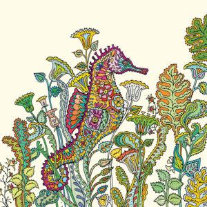 Fay's Studio Cards-Seahorse