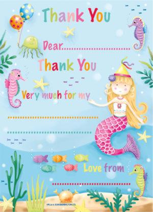 Mermaid Thank You