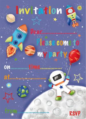 Astronaut Invitation