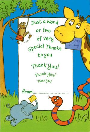 Children's Thank You