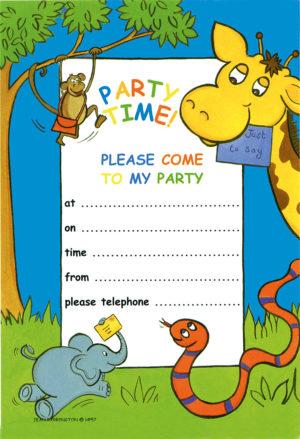 Children's Invitation