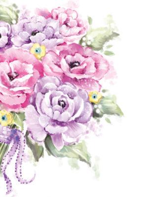 Pocket Floral-Pink Pastels