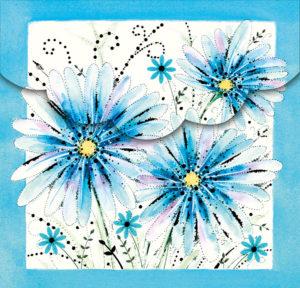 Ingrid-Blue Daisies