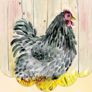 Cath Ward Notepad-Hen