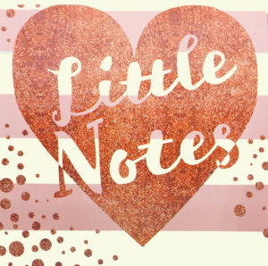 Copper Kisses-Little Notes