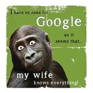 Google Fridge Magnet