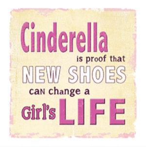 Cinderella Fridge Magnet