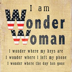 Wonder Woman Fridge Magnet