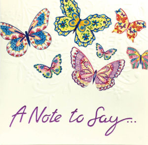 Note Card Butterfly