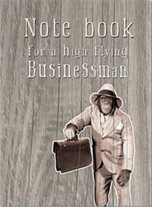 Businessman A5 Wired Notebook