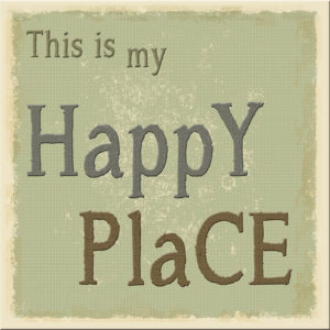 Happy Place Plaque
