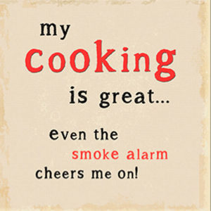 My cooking Plaque