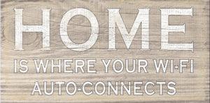 Home Wi-Fi  Plaque