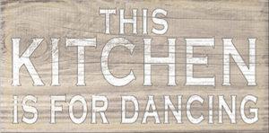 Kitchen dancing Plaque