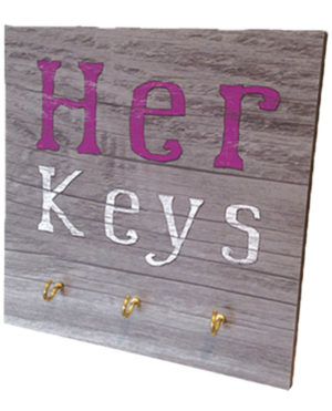 Her keys  Key Rack