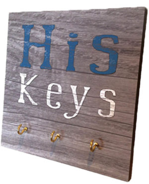 His keys  Key Rack