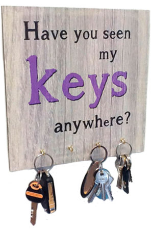 Seen my Keys?... Key Rack