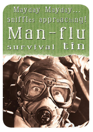 Man-Flu Survival Slip Lid Tin