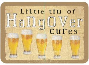 Hangover cure Slip Lid Tin
