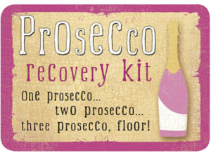 Prosecco Recovery Kit Slip Lid Tin