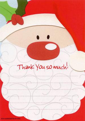 Santa Thank You