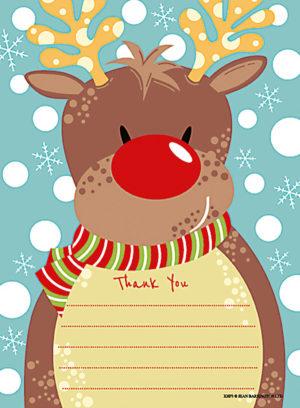 Reindeer Thank You