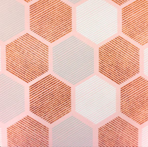 Copper Kisses-Hexagons