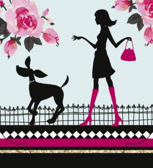 Ladies First-Dog Walking