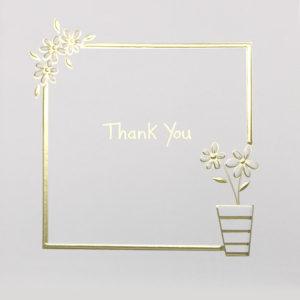 Thank you Flower pot Daisy