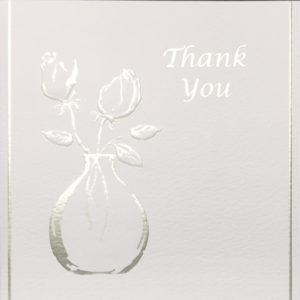 Rose Vase Thank You