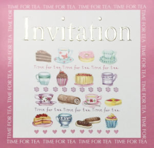 Time for Tea Invite